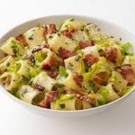 Paccheri panna, pancetta e zucchine